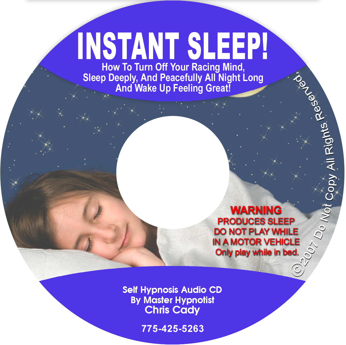 sleep insomnia with hypnosis Cd  mp3
