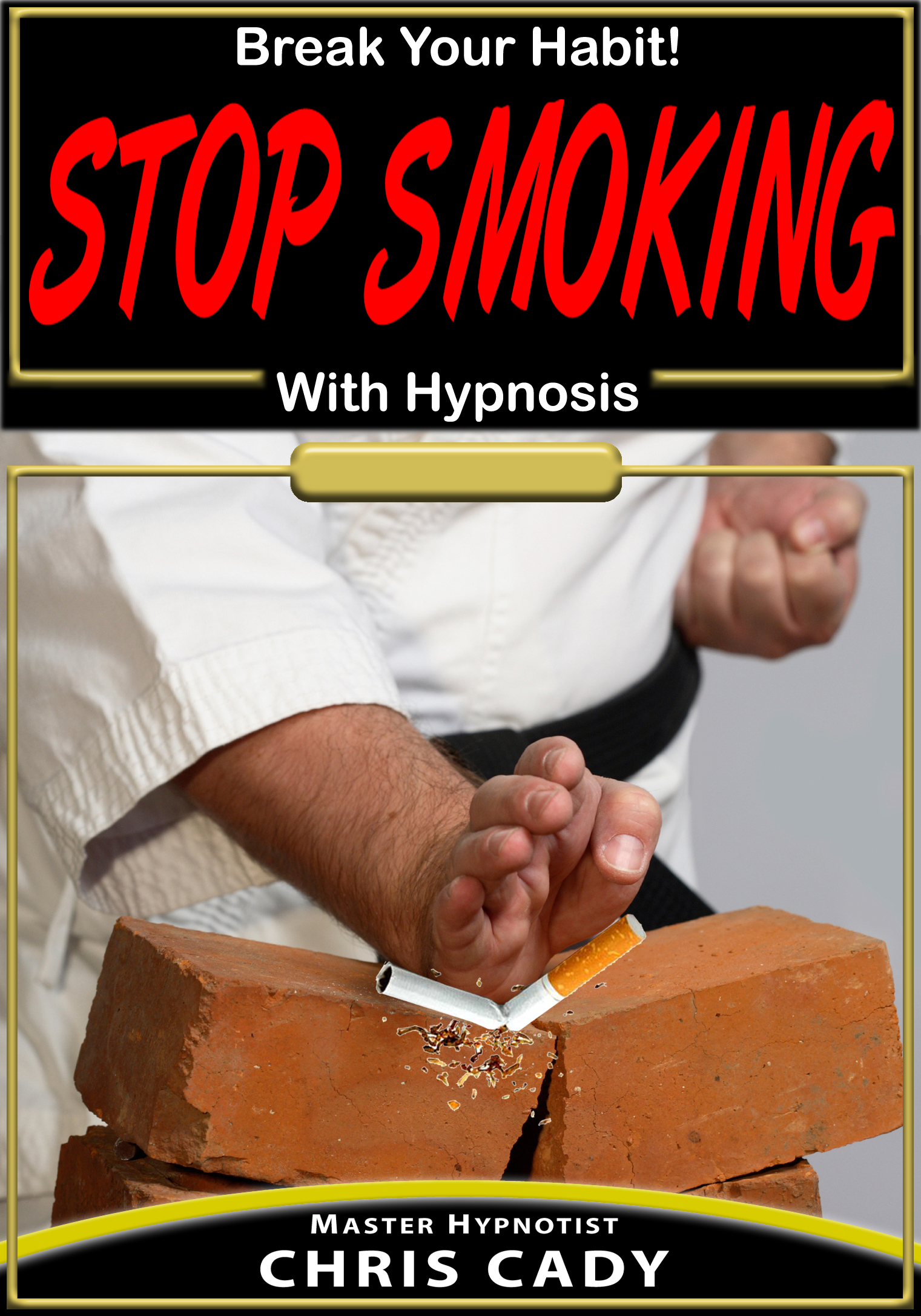 hypnosis cd stop smoking with hypnosis by hypnotist chris cady