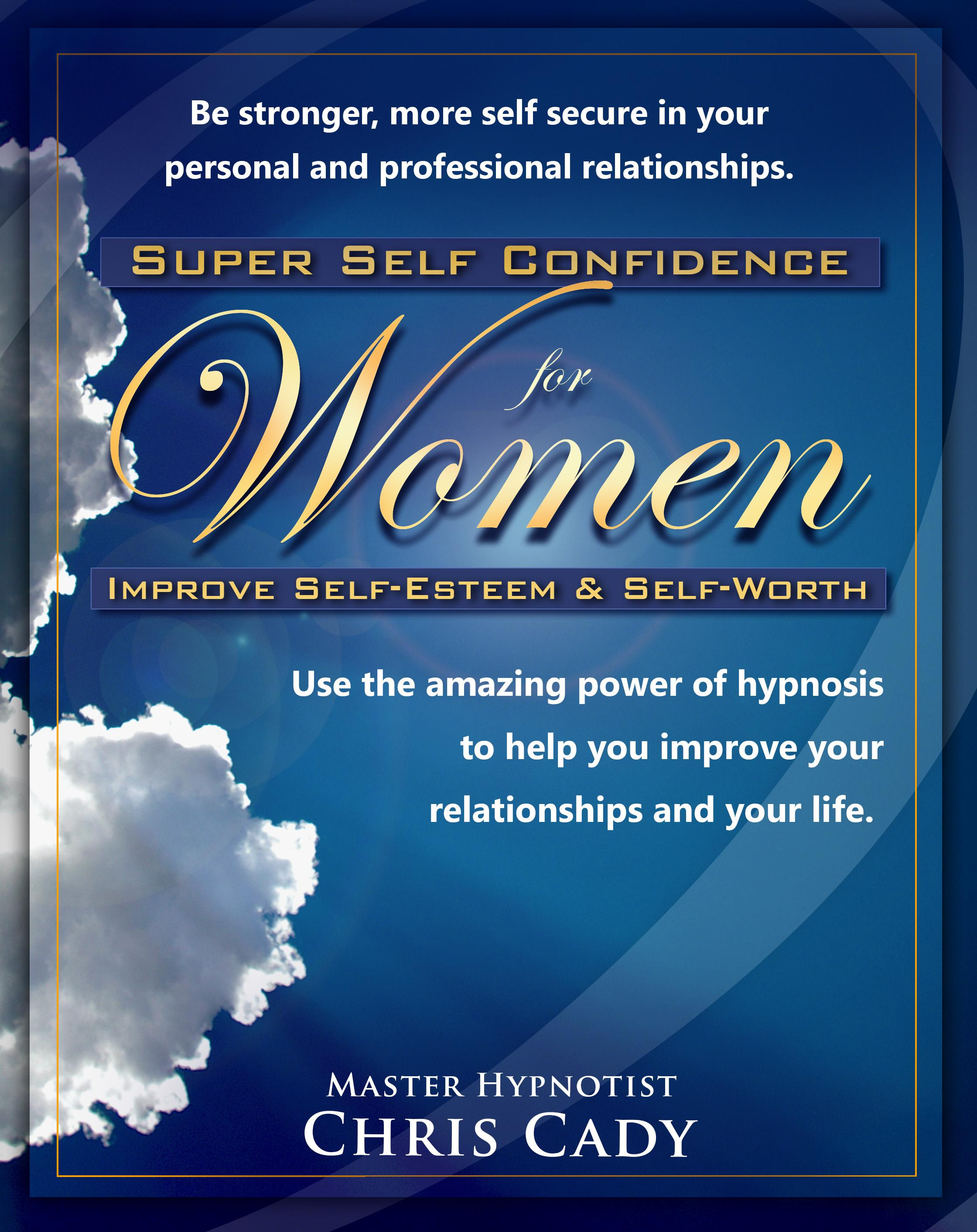 hypnosis self confidence for women cd mp3